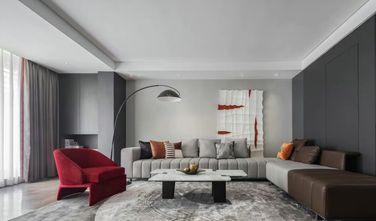 20万以上140平米三室两厅现代简约风格客厅装修案例
