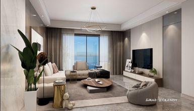 20万以上140平米三现代简约风格客厅效果图