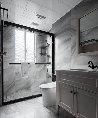 富裕型120平米三室两厅现代简约风格卫生间图片
