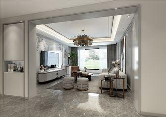 20万以上130平米现代简约风格客厅装修图片大全