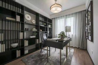 豪华型140平米三室两厅中式风格书房图