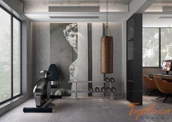 140平米别墅现代简约风格健身房图