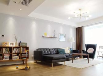 10-15万110平米三室三厅北欧风格客厅欣赏图