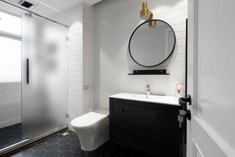 富裕型90平米三室两厅现代简约风格卫生间装修案例