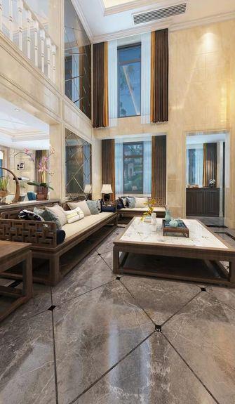 豪华型140平米别墅港式风格客厅装修案例