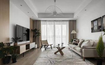 5-10万80平米三室两厅日式风格客厅装修效果图