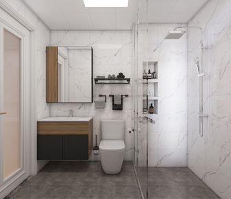 20万以上130平米三室两厅美式风格卫生间图片