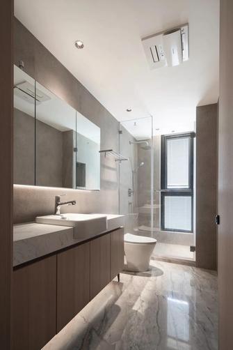 富裕型130平米三室两厅日式风格卫生间装修案例
