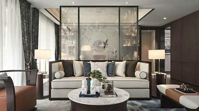 120平米三新古典风格客厅装修效果图