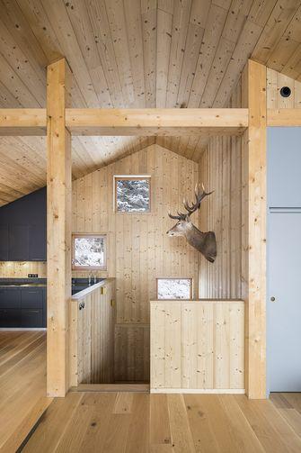 富裕型120平米复式田园风格厨房欣赏图