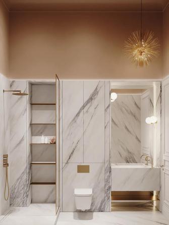 豪华型140平米四法式风格卫生间装修效果图