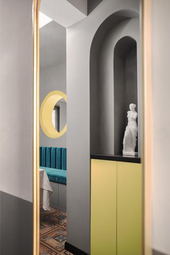 80平米一居室现代简约风格客厅效果图