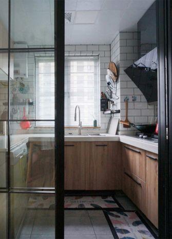 100平米三室一厅港式风格厨房图