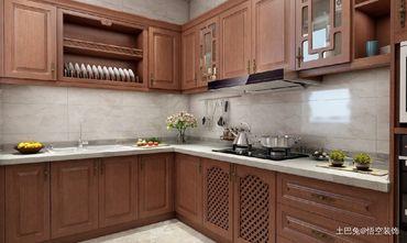20万以上四中式风格厨房装修图片大全