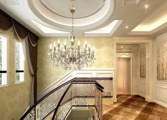 豪华型140平米别墅法式风格楼梯间图
