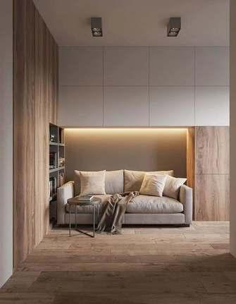40平米小户型现代简约风格书房装修图片大全