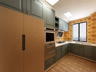 豪华型130平米三室两厅地中海风格厨房欣赏图