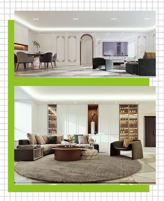 20万以上130平米三室两厅法式风格客厅装修图片大全