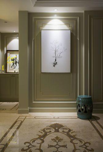 豪华型120平米三室一厅欧式风格玄关图片大全
