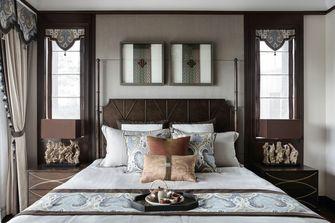 富裕型140平米三室一厅东南亚风格卧室图