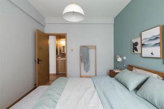 3-5万50平米小户型北欧风格卧室设计图