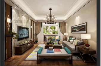 100平米四美式风格客厅设计图
