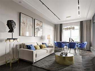 20万以上110平米三室三厅美式风格客厅图片