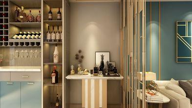 130平米三室两厅轻奢风格客厅装修效果图