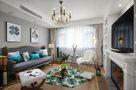 经济型100平米公寓混搭风格客厅设计图