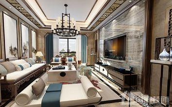 豪华型140平米别墅中式风格客厅设计图