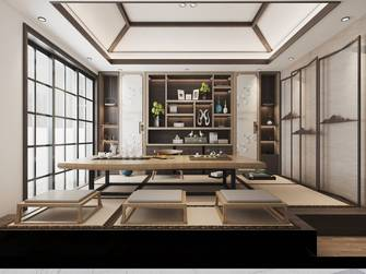 120平米三室一厅法式风格阳光房设计图