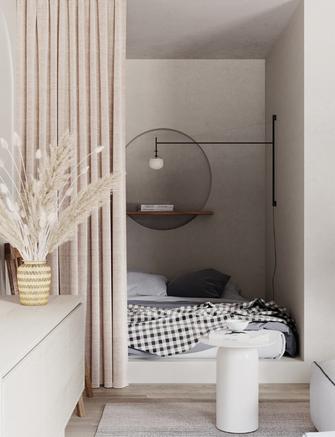 经济型30平米小户型北欧风格卧室效果图