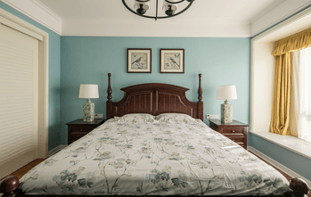 15-20万130平米三室两厅美式风格卧室设计图