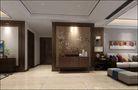 富裕型140平米三室两厅中式风格走廊效果图