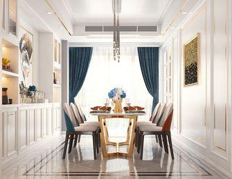 富裕型140平米三室三厅混搭风格餐厅效果图