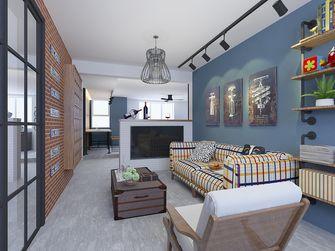 10-15万60平米一室两厅工业风风格客厅图片