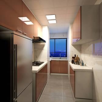 富裕型90平米现代简约风格厨房效果图