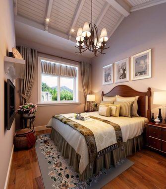 豪华型140平米四室两厅美式风格卧室装修案例
