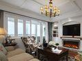 豪华型140平米四法式风格客厅装修图片大全