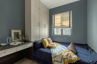 豪华型100平米三美式风格卧室图