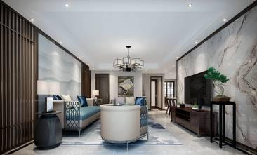 140平米四中式风格客厅装修图片大全