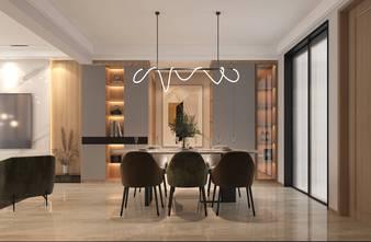 经济型140平米三轻奢风格餐厅图片