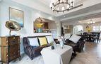 140平米四室三厅美式风格客厅图