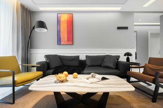 富裕型110平米三室一厅美式风格客厅装修图片大全