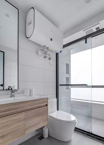 经济型90平米三室一厅日式风格卫生间设计图