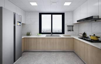20万以上140平米三室两厅北欧风格厨房图片