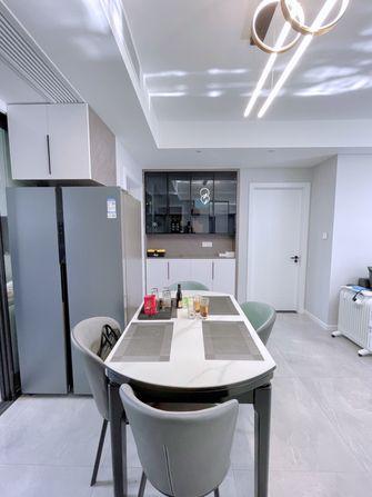3万以下90平米三室两厅现代简约风格餐厅图片