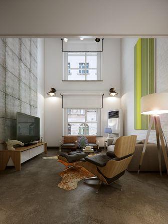 80平米复式工业风风格客厅图