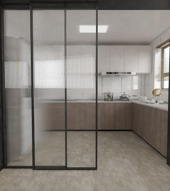 10-15万120平米复式现代简约风格厨房装修图片大全