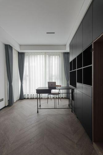 富裕型140平米四室一厅现代简约风格书房欣赏图